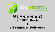 IONutrition Giveaway (4 FREE Meals + 2 Breakfast Delivered) - Subaholic • Reviews of Subscription Boxes