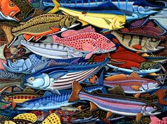 Gamefish by Ray Troll