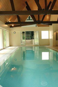 Une piscine chaleureuse