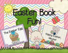 Two games and writing prompts for Easter books! This makes learning so much fun!
