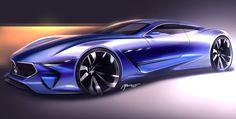 Car design sketches - june/july 2016 on Behance