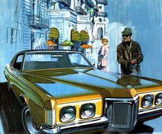 1970 Pontiac Grand Prix - 'Monaco': Art Fitzpatrick and Van Kaufman