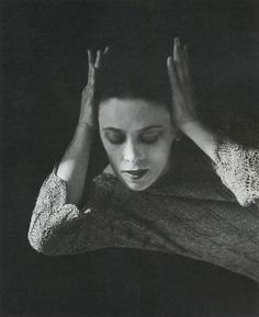Imogen Cunningham  Martha Graham, Dancer, 4, 1931  From Imogen Cunningham 1883 - 1976