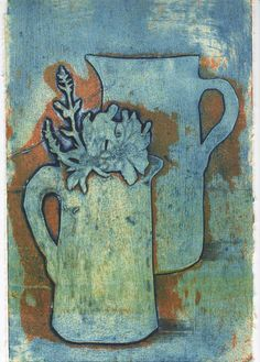 Stumbled across this collograph, really made me think about print making again.