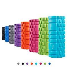 Pro-Tec Athletics Foam Roller Blue, 6-Inch x 18-Inch Fitness & Jogging