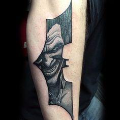 Batman Symbol with Joker