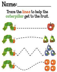 The Very Hungry Caterpillar Printables | MySunWillShine.com