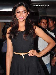 Deepika Padukone in Little Black Dress