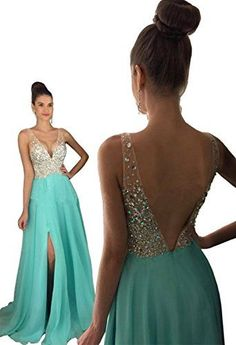 #Split #Strapless #Deep V #Neck #Evening #Dress #Heavy #Beaded #Chiffon #Skirt #Prom #Dress Feature:Elegant sweep train and strapess #deep V #neck design #Heavy beading on top bodice with high quality stones All colors available, please find the color number you like in the swatch, then we can customize for you https://boutiquecloset.com/product/split-strapless-deep-v-neck-evening-dress-heavy-beaded-chiffon-skirt-prom-dress/