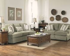 What is a Transitional Living Room? Small Couches Living Room, Sage Living Room, Country Style Living Room, Rustic Living Room Furniture, Home And Living, Living Room Decor, Rustic Couch, Rugs In Living Room, Dining Room