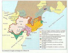 La Corona de Aragón en tiempos de Alfonso II