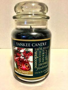 Yankee Candle Pine Berry 22 Oz Jar Christmas