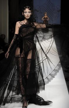 2009 Paris Fashion Week - Jean Paul Gaultier Fashion Show