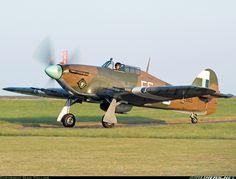 Hawker Hurricane Mk2C.  Manston - Kent International (MSE / EGMH / EGUM) UK - England, July 13, 2013