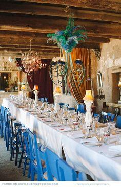 Long wedding dinner table   Photography: welovepictures, Venue: Halfaampieskraal