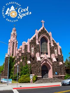 This beautiful Catholic church is a favorite photo spot for locals and visitors. Built of local sandstone and volcanic rock this is a must see. This church is not always open, so you need to check when you might be able to see it. You can call San Francisco de Asis Catholic Church, to learn more. 928-779-1341 Volcanic Rock, See It, Great View, Notre Dame, Catholic, Cool Stuff, Learning, Building, San Francisco