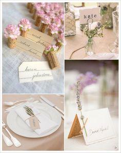 decoration mariage provence marque place bouchon de liège vase lavande brin d'olivier