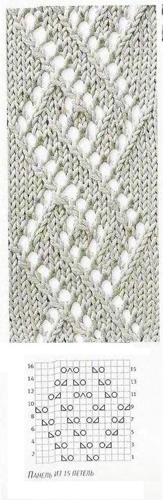 Patrón de tejer: las espirales de diamantes ~ estos son dos conceptos para los diamantes que viajan en el lanzamiento que luego se intercalan con un cable ancho.  En mi pizarra: - 'knit ~ stitch and pattern library' encontrará muchos más puntos que podrían adaptarse a este lanzamiento ..... por Stoeps