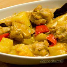 Thai-Styled Stewed Red Curry Chicken Drumsticks