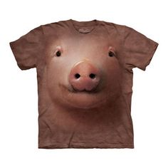Pig Face Tee now featured on Fab.