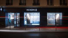 Nixon store by Checkland Kindleysides, Paris – France » Retail Design Blog