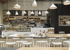A Contemporary Interpretation of a Traditional Cafe at London cornerstone cafe7