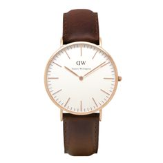 Named after a British gentleman who used to wear his Rolexes on old weathered Nato straps, Daniel Wellington is our latest obsession of thin elegant wat...