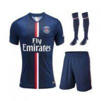 PSG FC 2014-15 Season Home Jersey Whole Kit(Shirt+Short+Socks)