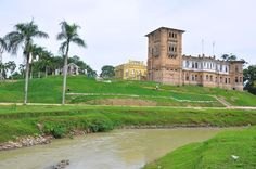 Kellie's Castle in Perak, Malaysia. Not really as abandoned, since it's been made into a tourist attraction now, but it was never finished when its owner died on a ship in 1926. Supposed to be haunted, too.
