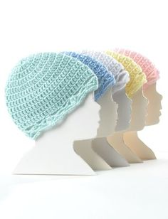 Crochet Baby Hat in Bernat Softee Baby Solids. Discover more Patterns by Bernat at LoveKnitting. The world's largest range of knitting supplies - we stock patterns, yarn, needles and books from all of your favorite brands.