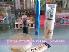 La Avenida A: 5 favoritos: Productos de maquillaje económicos