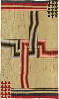 Marion Dorn was one of the most important textile and rug designers of the first half of the 20th century. In addition to furnishing textiles she also designed interiors, wallpapers, graphics , and illustrations. Born in the United States she studied graphics at Standford University, moving into textile design in the early 1920s. Significant in forming her design outlook was a trip to Paris in 1923 with the American textile designer Ruth Reeves, who was well connected with a number of…