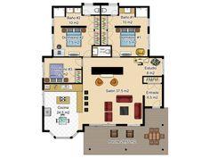 plano-de-casa-de-un-piso.jpg (1024×768)