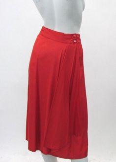 Kenzo Vintage Silk Pleated MIDI Skirt Size 38 100 Silk Made in France | eBay