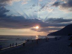Por do Sol em Maresias - São Sebastião - SP - Br