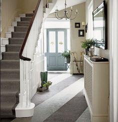 Two tone hallway