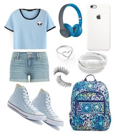 """""""👌🏻"""" by nikkisfashion273 on Polyvore featuring Vera Bradley, Paige Denim, Converse, Beats by Dr. Dre, Jordan Askill and Trish McEvoy"""