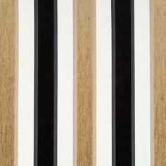 Black White Velvet Stripe Upholstery Fabric for Furniture - Modern Black Taupe Velvet Pillow - Contemporary Striped Roman Shade and Curtain