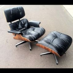 New York: Eames For Herman Miller 670/671 Lounge Chair and Ottoman Mid Century Ros $1500 - http://furnishlyst.com/listings/196960