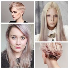 Hair Color Inspiration and Formulation: Violet Beige Blonde