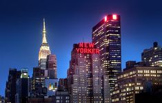 NEW YORKER This historic Midtown Manhattan hotel is 2 minutes' walk from Madison Square Garden and opposite Penn Station. Hotel A New York, New York Hotels, New York City, The New Yorker, Madison Square Garden, Nyc Hotels, Best Hotels, Hotel Deals, Travel