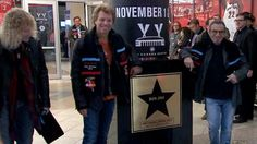 CONGRATULATIONS to Bon Jovi for being the first band inducted into the Air Canada Centre's Hall of Fame! We do love you!