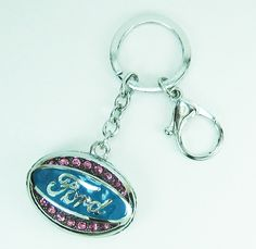 FORD pink diamond car keyring | FORD pink diamond car keychain - $5.99 USD Craft Punches, Key Chains, High Tea, Ford, Trucks, Personalized Items, Diamond, Search, Vehicles