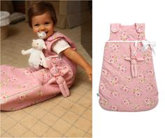 Andersen pink sleepsack, by Trois Poules www.troispoules.com