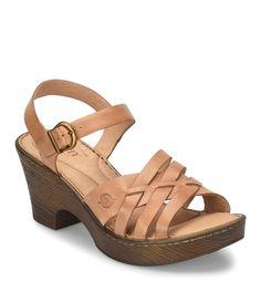 Born Angel Ankle Strap Block Heel Sandals DlMJHF6aL