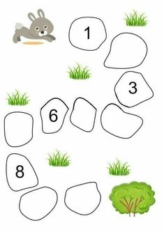 Fun Worksheets For Kids, Free Kindergarten Worksheets, Kindergarten Learning, Preschool Learning Activities, Math For Kids, Preschool Writing, Numbers Preschool, Barn, Wall Photos