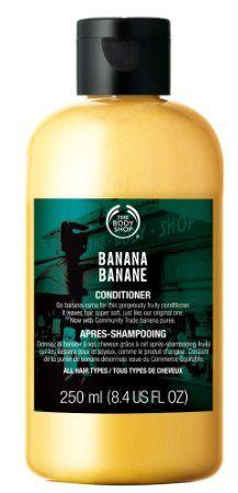 The Body Shop Banana Conditioner, 8.4 Fluid Ounce
