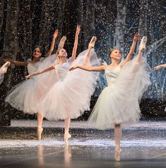 Boston Ballet's Nutcracker. The Waltz of the Snowflakes is my favorite.
