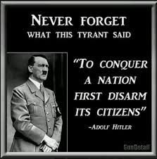 Gun Confiscation ALWAYS Precedes Genocide, Will You Follow Hitler and Obama, or Jefferson?