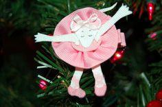 angelina ballerina hair clip